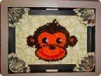 Символ года обезьянка своими руками картинки