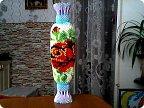 Большая напольная ваза своими руками из модулей 89