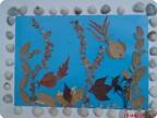 Поделки из природного материала на тематику морскую 63