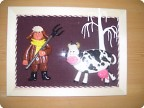 Дед и его корова