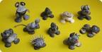 Зверушки из ракушек
