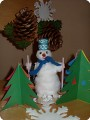 Снеговик спешит на праздник