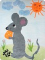 Сказка «Приключения мышонка и его друзей» и аппликация