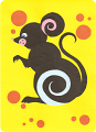 Мышка из кругов