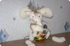 Игрушка из поролона «Крыска-Анфиска»