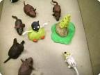 «Ах, как мыши надоели!..» поэтический мышиный коллаж