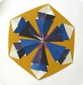 Оригами.  Снежинка из модулей.