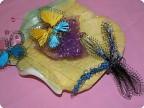 Цветные крылышки