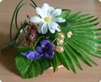 Сверчок и цветы