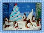 Новогодний хоровод в кругу пингвинов!