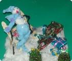 Снеговичок ждет друзей!
