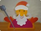 Дед Мороз с подарками.