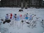 Свадьба снеговичков.