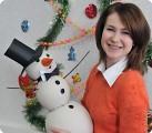 В компании снежного щеголя