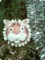Тигр на ёлке