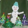 Снеговичок-лесовичок и подружки-ёлочки