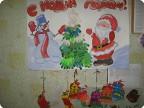 Новогодний привет от Снеговика и Дедушки Мороза