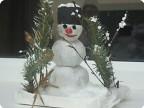 Забавный Снеговик