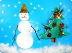"""Волшебник-снеговик"""