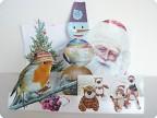 Веселый снеговик и его друзья