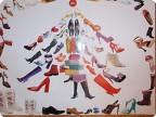 """Подарок модницам (любительницам обуви). Серия """"Новогоднее дефиле"""""""