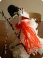 Снеговичок с метелкой счастья