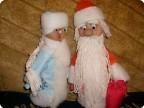 Дед Мороз и Снегурочка для моей внучки