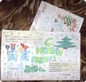 Письмо-открытка Деду Морозу