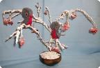 Красногрудые снегири