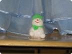 Снеговик- белый, снежный пуховик