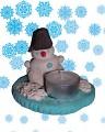 Снего-снего-снеговик, правда, ростом не велик