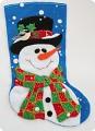 Снеговик для подарков.