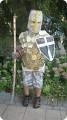 Костюм рыцаря своими руками из подручных материалов