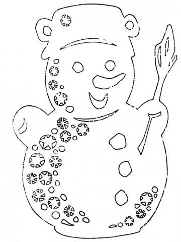 开心果喜欢的圣诞剪纸集锦 - qyp.688 - 邱艳萍手工博客