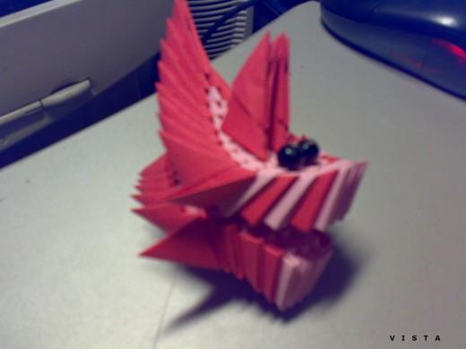 модульное оригами лебедь, модульное оригами дракон. оригами ангел.