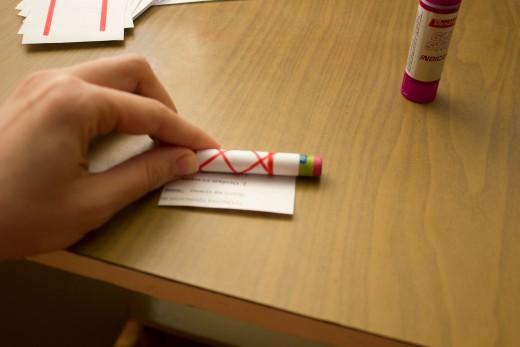 обматываем бумагой