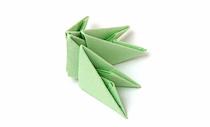 Ёлочка модульное оригами