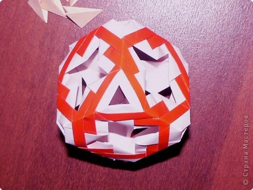 Кусудама: Модульный куб фото 2
