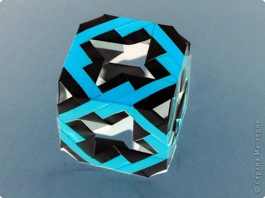 Кусудама: Модульный куб фото 1