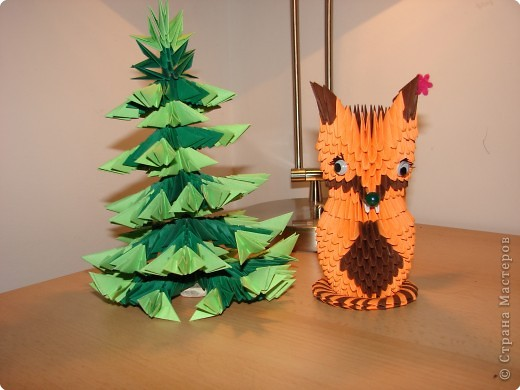 Оригами модульное: зверёк фото 2