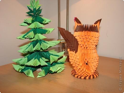 Оригами модульное: зверёк фото 3