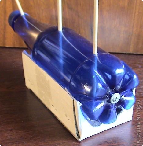 Как сделать почтовый ящик с бутылки