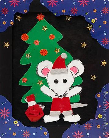 Мышонок-Дед Мороз