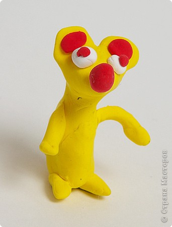 Пластилиновый мышонок