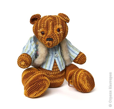Вязаный медведь