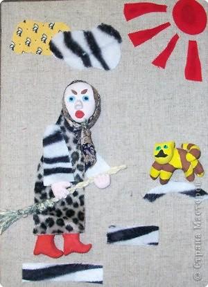 Ассамбляж, Лепка: портреты из соленого теста фото 6