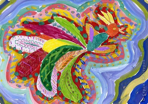 Рисование и живопись: золотой петушок