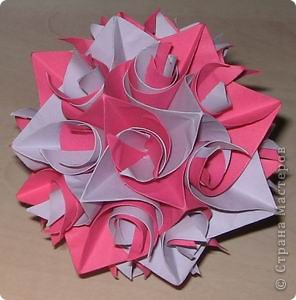 Кусудама: Курлер из оригами