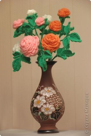 Вязание: Как хороши, как свежи были розы.