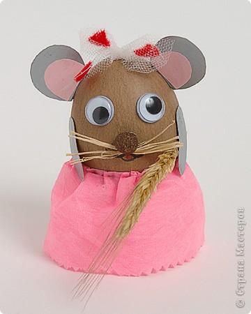 Мышка с колоском
